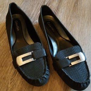 Barely worn Calvin Klein loafers